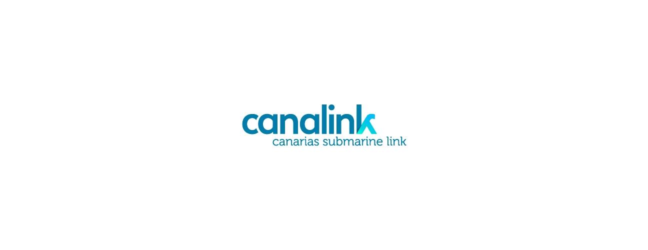 Isologo de Canalink (Canarias Submarine Link)