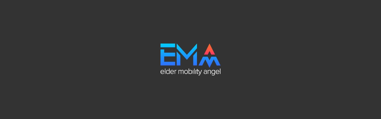 Logo de EMA (Elder Mobility Angel)