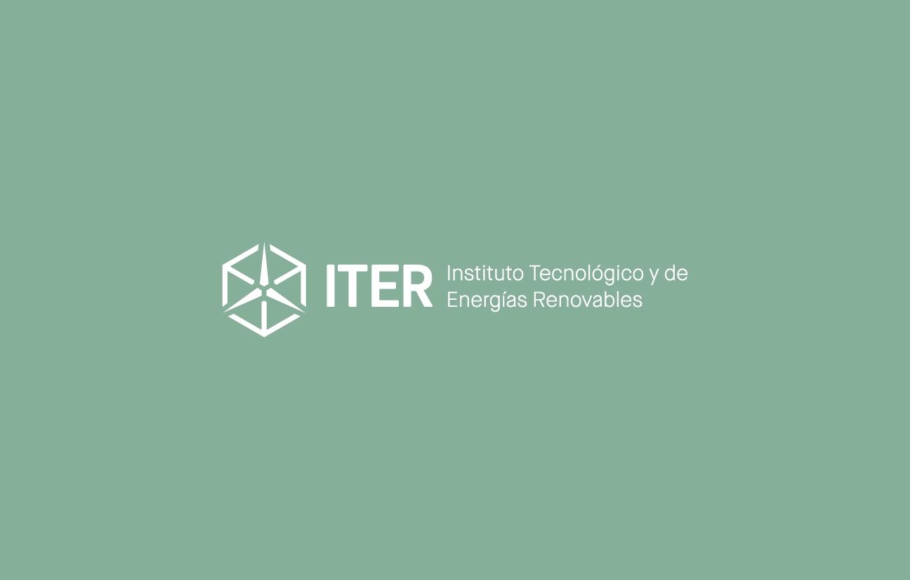 Isologotipo del ITER en monocromo y negativo