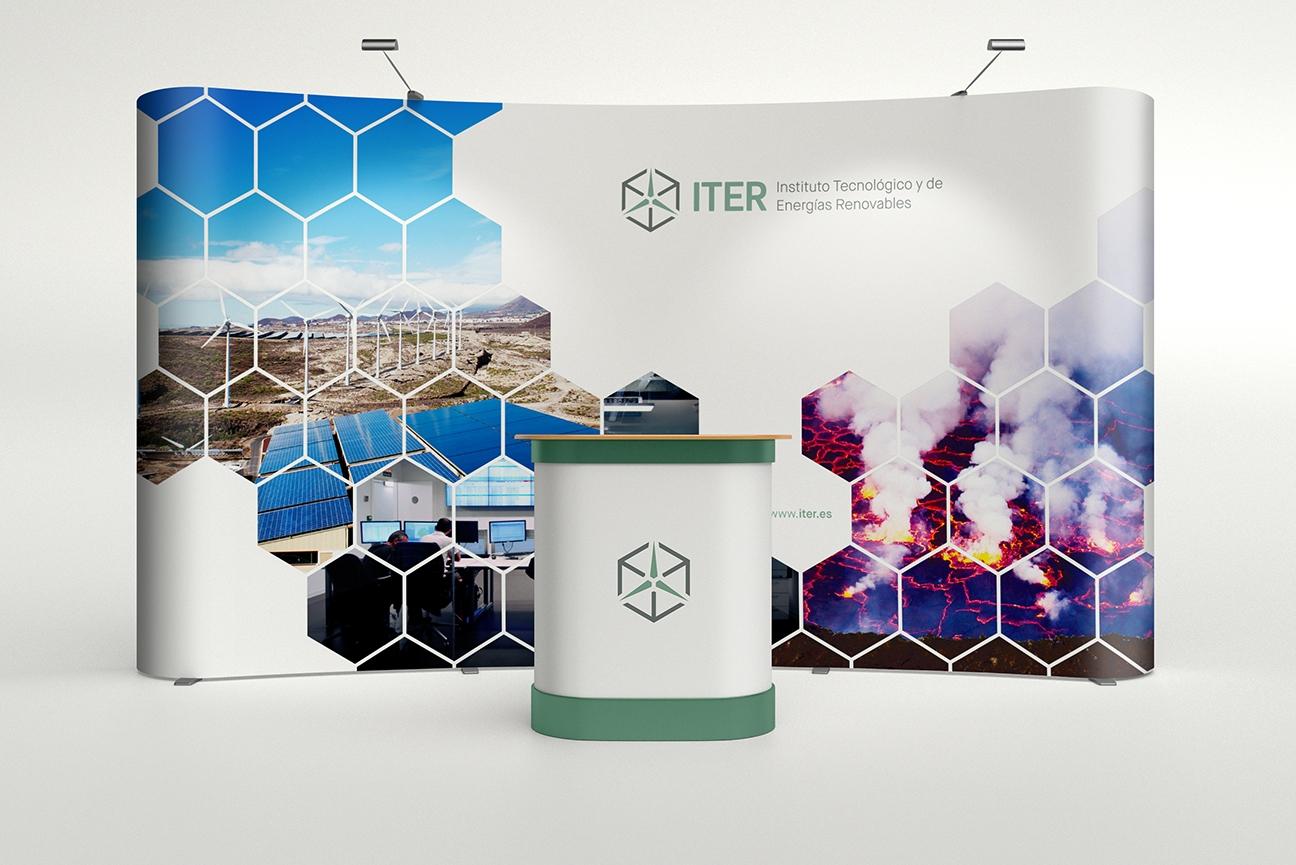 Stand publicitario de ITER